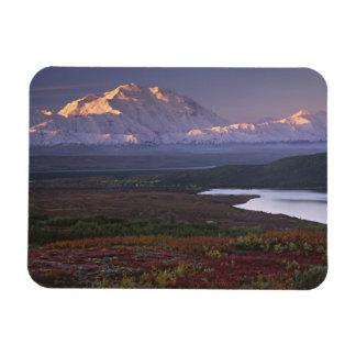 Taken in early September in Denali National Park Rectangular Photo Magnet