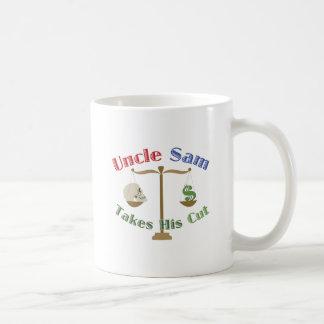 Takes His Cut Coffee Mug