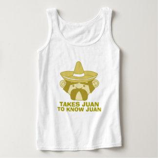 Takes Juan to Know Juan Tank Top