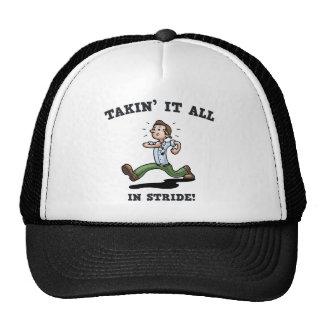 Takin' It All In Stride Trucker Hat