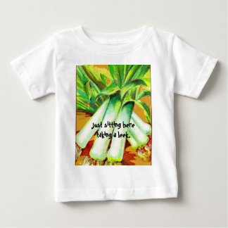 Taking a Leek Baby Kids Shirts