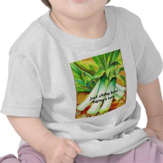 Taking a Leek Baby Kids Shirts