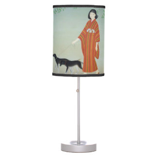 Taking a stroll table lamp