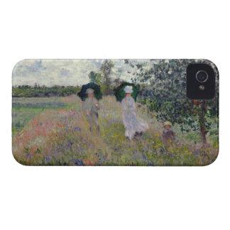 Taking a Walk near Argenteuil - Claude Monet Case-Mate iPhone 4 Case