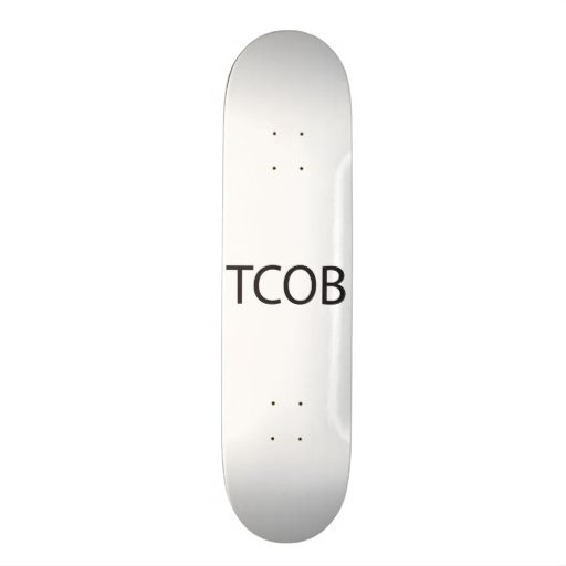 Taking Care Of Business.ai Skate Board Deck
