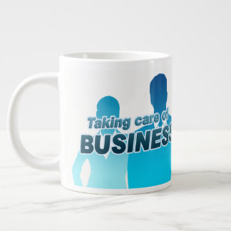 Taking care of Business Jumbo Mug