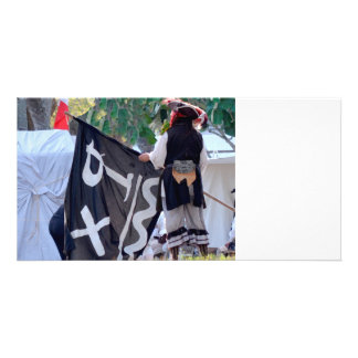 taking down pirate flag poster image card
