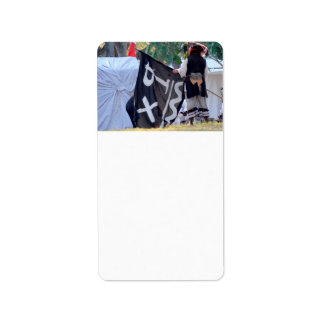 taking down pirate flag poster image label