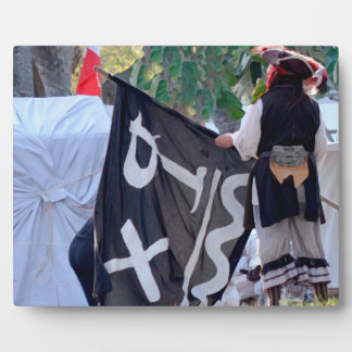 taking down pirate flag poster image plaque