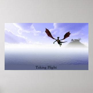 Taking Flight Poster