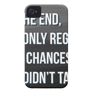 Taking Risks Inspirational Motivational Quote iPhone 4 Case-Mate Cases
