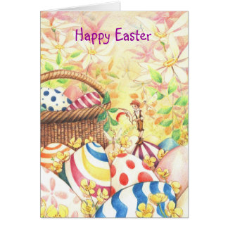 """Taking Stock for Easter"" Card"