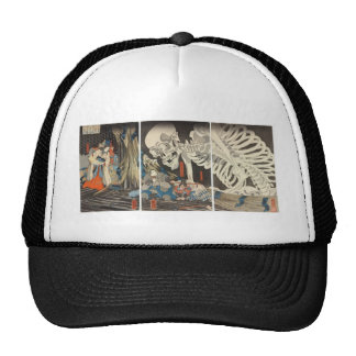 Takiyasha the Witch and the Skeleton Spectre Trucker Hat