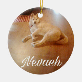 Takoda Husky Ornaments