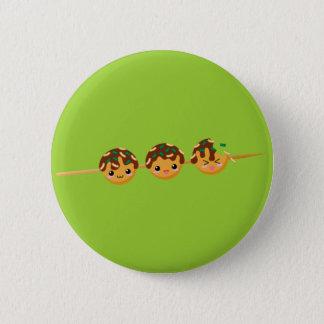 Takoyaki 2 Inch Round Button