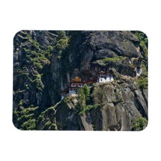 Taktsang Monastery on the cliff, Paro, Bhutan Magnet