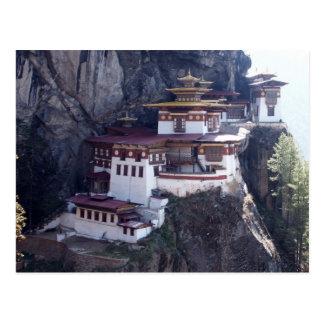Taktshang Monastery, Paro, Bhutan Postcard