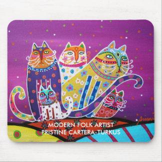 TALAVERA CATS MOUSE PAD