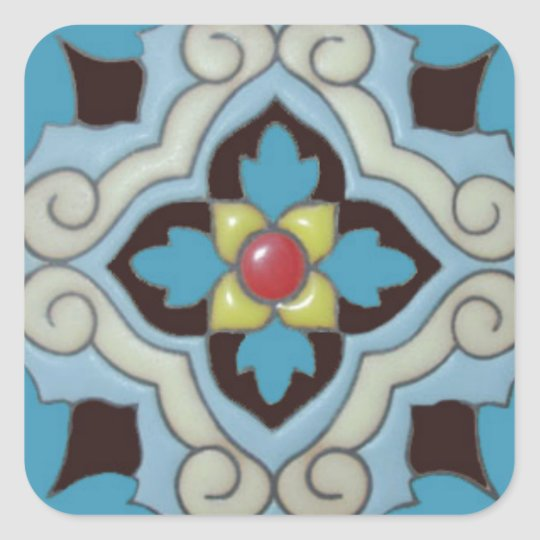 Talavera Tile 3 sticker