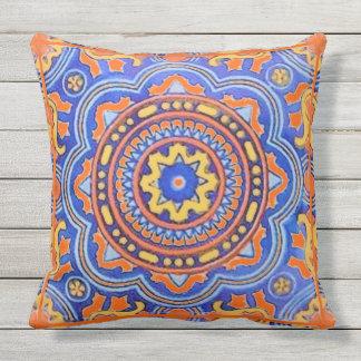 Talavera Tile Throw Pillow