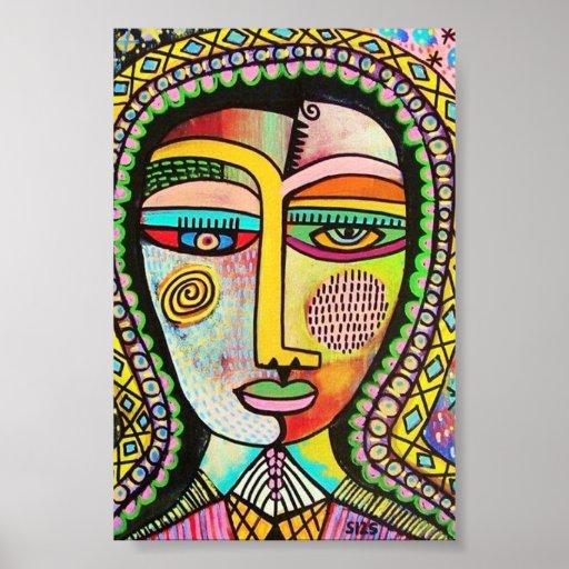 Talavera Virgin of Guadalupe MIRACLES Poster