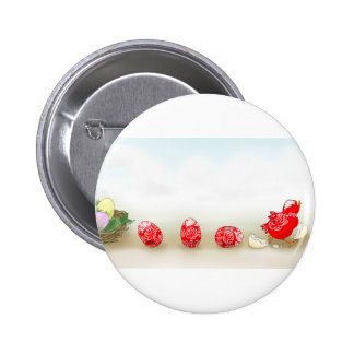 Tale of an Easter egg 2 Inch Round Button