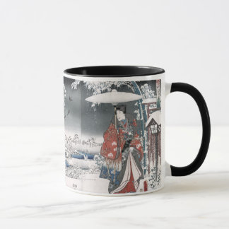 Tale of Genji Toyokuni Hiroshige Japanese Fine Art Mug