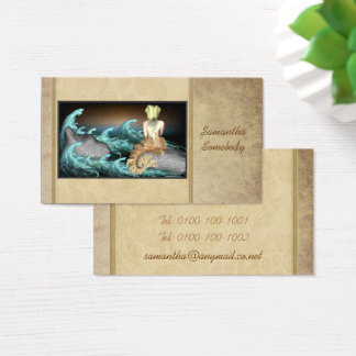 Tale of the Mermaid Art Profile Cards