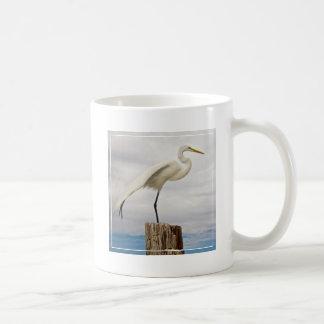 Talented Egret | Fort Myers Beach, Florida Coffee Mug