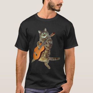 Talented tabby guitar player T-Shirt
