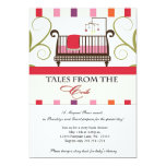 Tales from the Crib Storybook Shower Invitation