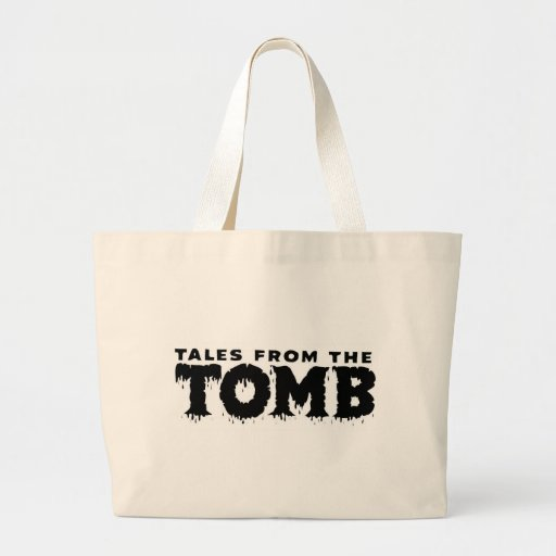 TALES FROM THE TOMB CANVAS BAGS