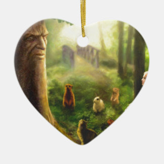 Tales from the Whispering Tree Ceramic Ornament