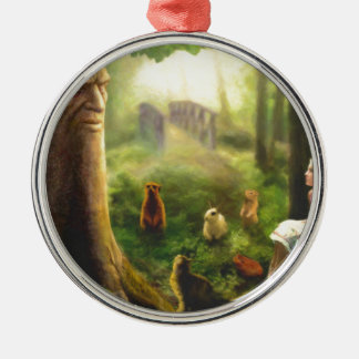 Tales from the Whispering Tree Metal Ornament