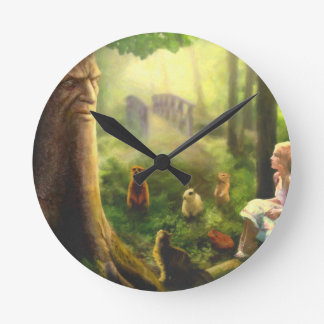 Tales from the Whispering Tree Round Clock