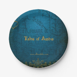 Tales of Ambia Paper Plates 7 Inch Paper Plate