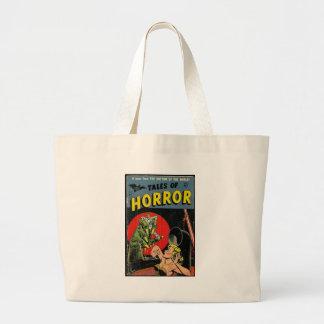 Tales of Horror comic Jumbo Tote Bag