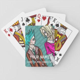 Taliah and Erik Playing Cards