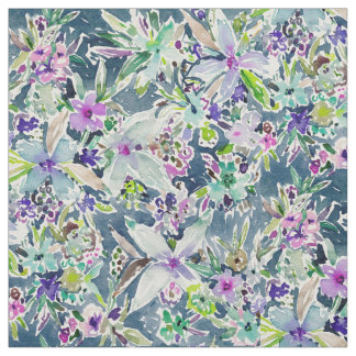 TALIA'S GARDEN Colorful Badass Floral Fabric