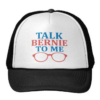 Talk Bernie To Me Trucker Hat