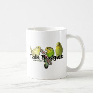 Talk Budgies v3 Coffee Mug