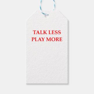 TALK GIFT TAGS