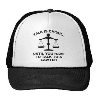 Talk Is Cheap Trucker Hat