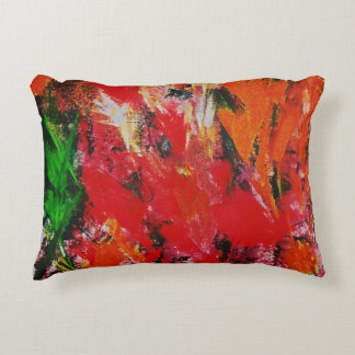 """TALK LEAVES"" COTTON PILLOW"