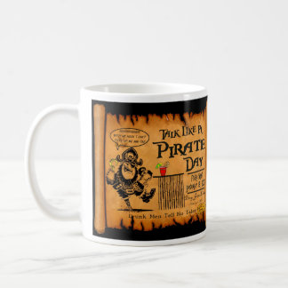 Talk Like A Pirate Day 2008 Rum Mug