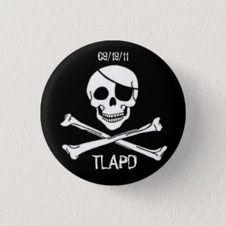 Talk Like a Pirate Day Round Button
