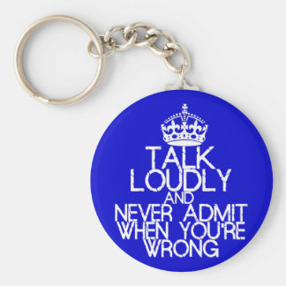 Talk Loudly Keychain