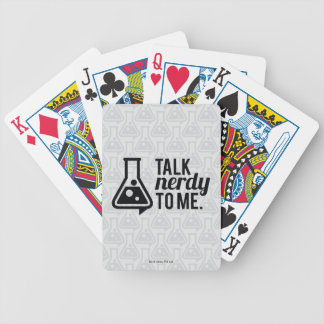 Talk Nerdy Bicycle Playing Cards