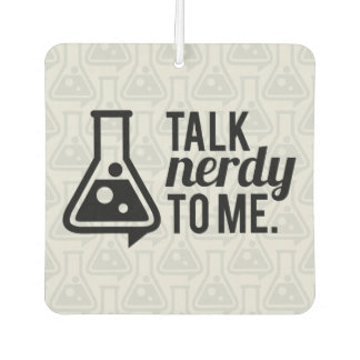 Talk Nerdy Car Air Freshener