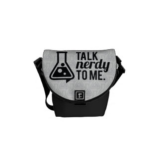 Talk Nerdy Courier Bag